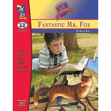 Fantastic Mr. Fox Lit Link, Grade 4-6