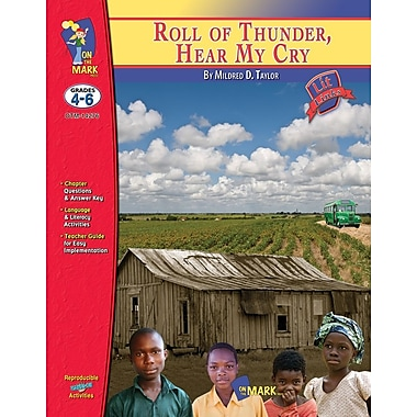 Roll of Thunder, Hear My Cry Lit Link, Grade 4-6