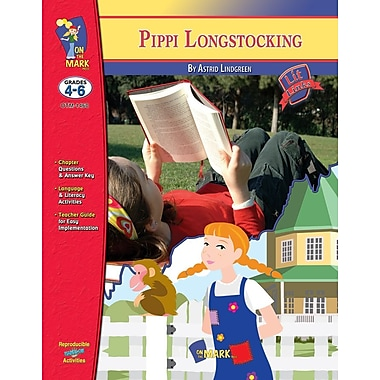 Pippi Longstocking Lit Link, Grade 4-6