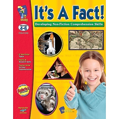It's A Fact! Developing Non-Fiction Comprehension Skills, Grade 4-6