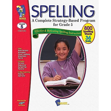 Spelling - A Complete Strategy Based Programs for Grades 5 & 6
