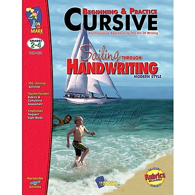 Beginning and Practice: Cursive Modern Style, Grade 2-4