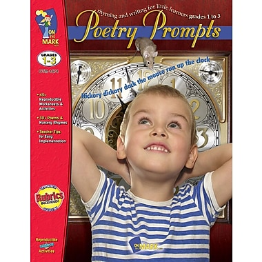Poetry Prompts, Grade 1-3