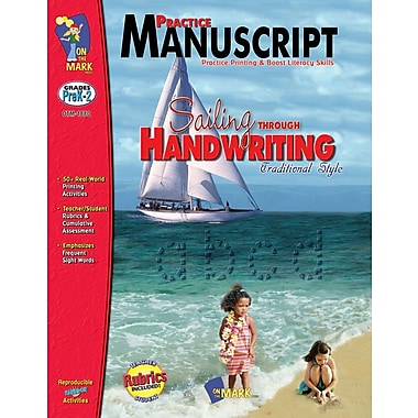 Practice: Manuscript - Traditional Style, Grade PreK-2