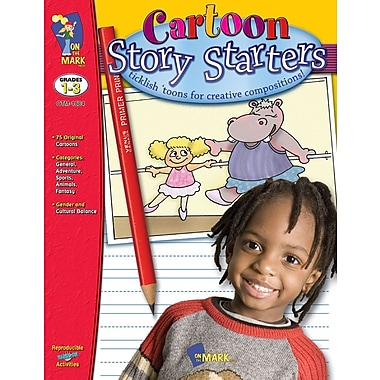Cartoon Story Starters, Grade 1-3
