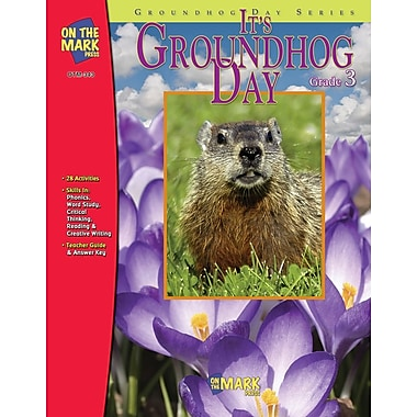 It's Groundhog Day, Grade 3
