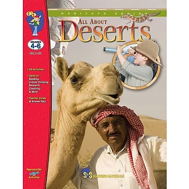All About the Desert, Grade 4-6