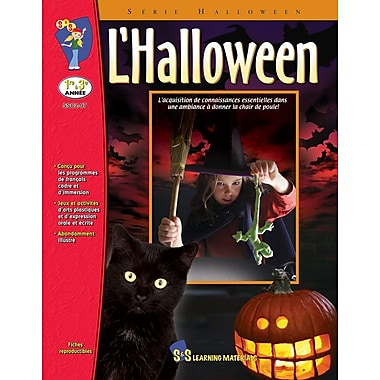 Halloween, Grades 1-3 (French Book)