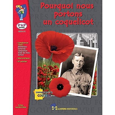 Why We Wear a Poppy, Grades 2-3 (French Book)