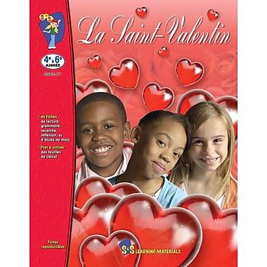 Valentine's Day, Grades 5-8 (French Book)