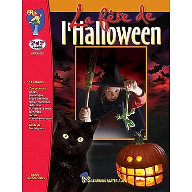 Halloween, Grades 2-3 (French Book)