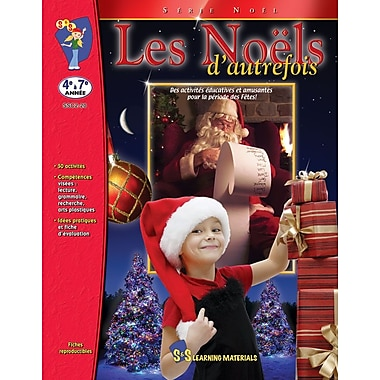 Christmases Past, Grades 4-7 (French Book)