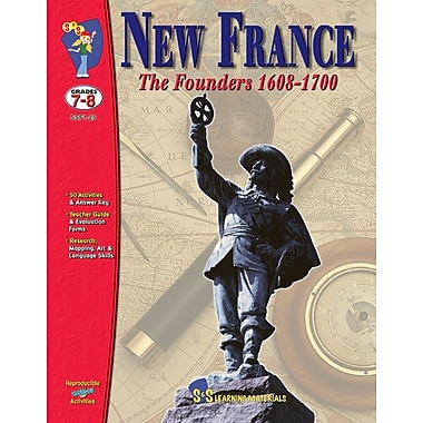 New France Part 1 & 2 Books, Grade 7-8