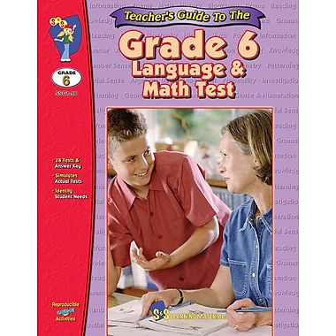 Teacher's Guide: Grade 6 Math/Language Tests
