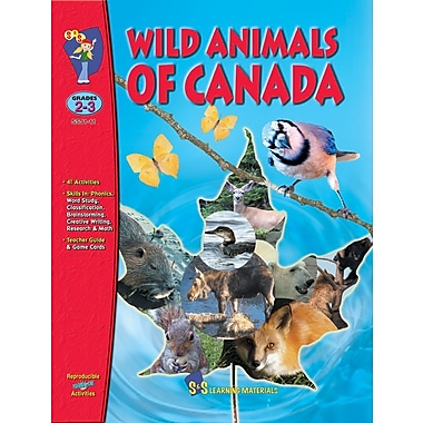 Wild Animals of Canada, Grade 2-3