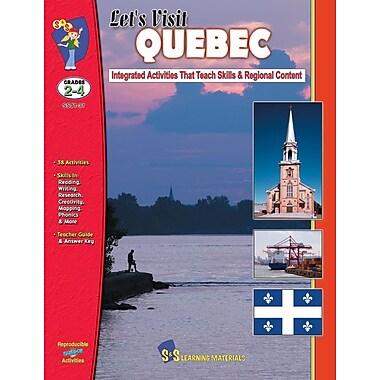 Let's Visit Quebec, Grade 2-4