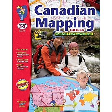 Canadian Mapping - Developing and Using Mapping Skills, Grade 2-3