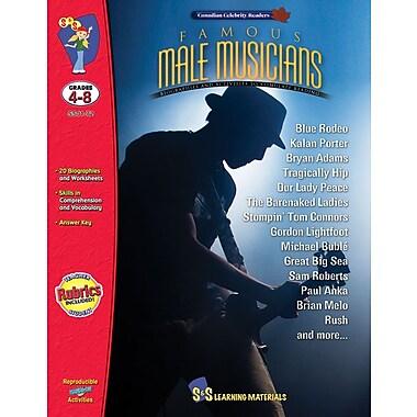 Famous: Male Musicians, Grade 4-8