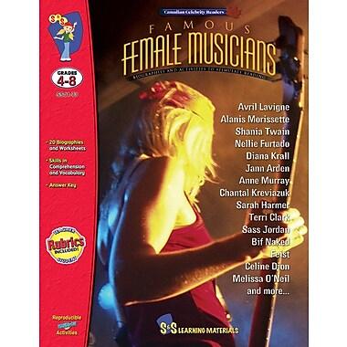 Famous: Female Musicians, Grade 4-8