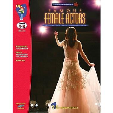 Famous: Female Actors, Grade 4-8