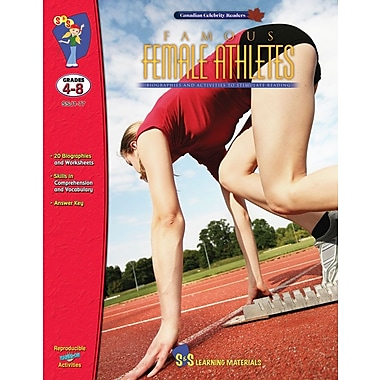 Famous: Female Athletes, Grade 4-8