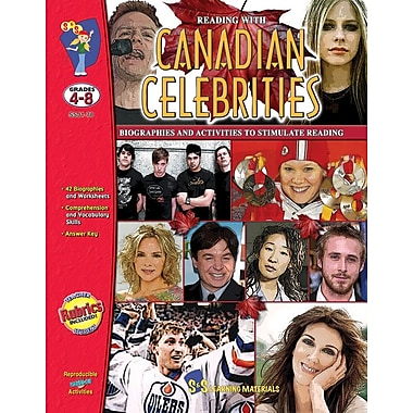 Reading with Canadian Celebrities, Grade 4-8