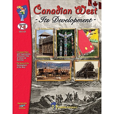 Canadian West - It's Development, Grade 7-8