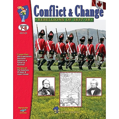 Conflict and Change - Rebellions of 1837-1838, Grade 7-8