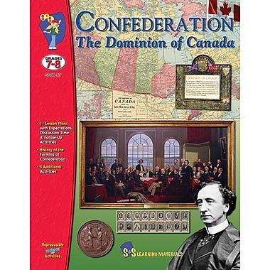 Confederation - The Dominion of Canada, Grade 7-8