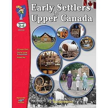 Early Settlers in Upper Canada, Grade 2-4