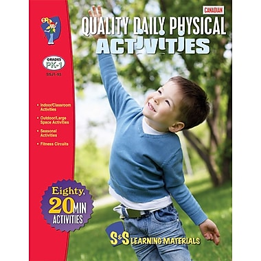 Canadian Quality Daily Physical Activity Books for Grades PreK-8