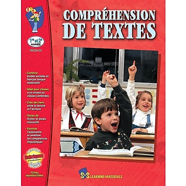 Reading Comprehension, Grades 1-2 (French Book)