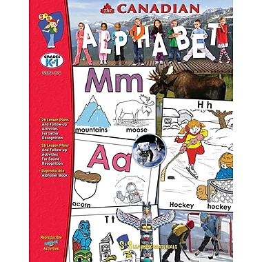 The Canadian Alphabet, Grade PreK-K