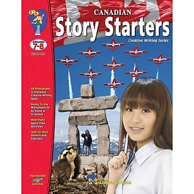 Canadian Story Starters, Grade 7-8