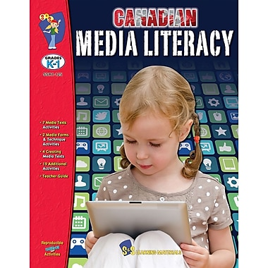 Canadian Media Literacy Books for Grades K-6