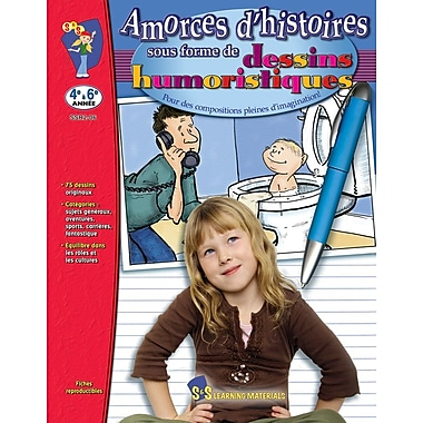 Let the Stories Begin : Cartoons, Grades 4-6 (French Book)