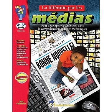 Literacy via the media, Grades 4-6 (French Book)