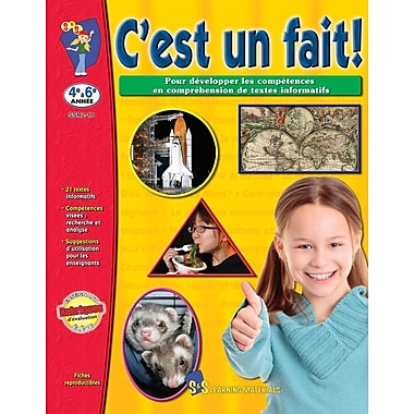 It's a fact, Grades 4-6 (French Book)