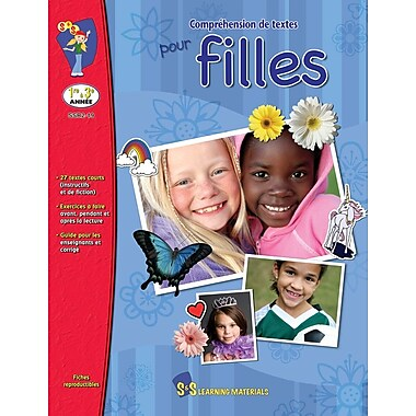Reading Comprehension for Girls, Grades 1-3 (French Book)