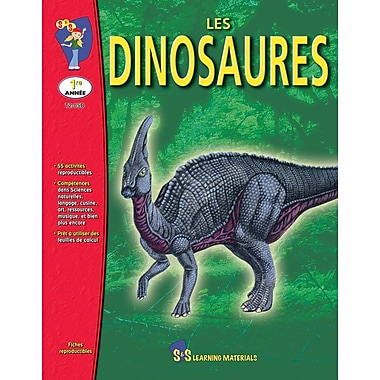 Dinosaurs, Grade 1 (French Book)
