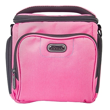 Bower® Dazzle Series Medium Camera/Video Bag, Pink