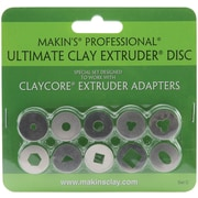 Makin's® Professional™ Ultimate Clay With Extruder Discs, Set C, 10/Pack
