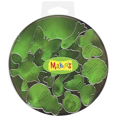 Makin's® Metal Clay Cutters, Bugs, 11/Pack