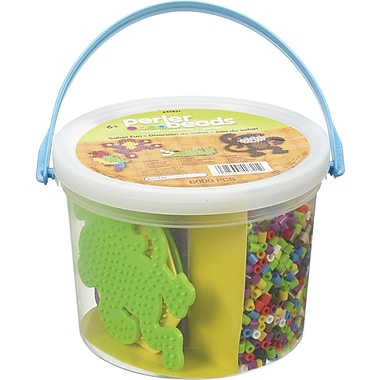 Perler® Safari Fun Fuse Bead Activity Bucket