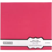 Colorbok® Fabric Postbound Album, 12 x 12, Pink