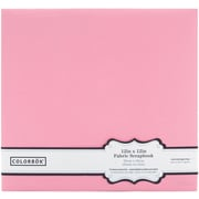 Colorbok® Fabric Postbound Album, 12 x 12, Light Pink