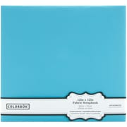 Colorbok® Fabric Postbound Album, 12 x 12, Light Teal