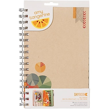 American Crafts™ Amy Tangerine Ready Set Go Spiral Daybook, 5 1/2in. x 8 1/2in., Yes, Please