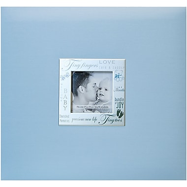MBI Expressions Postbound Album With Window, 8