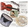 MBI Sport & Hobby Postbound Album, 12in. x 12in., Musical Instruments